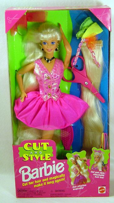 Someone Else Pinned This Cut Style Barbie When I Was About 3 Or