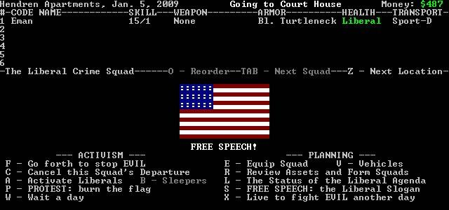 Download and play Liberal Crime Squad: a free, open source