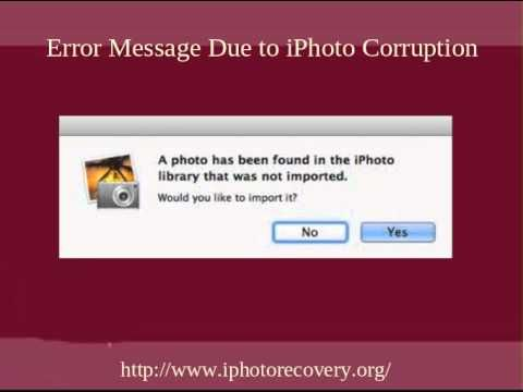 Lost Or Deleted Photos From Iphoto Library On Mac Can Be Easily