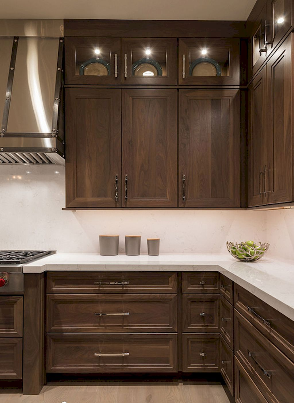 150 Gorgeous Farmhouse Kitchen Cabinets Makeover Ideas 59