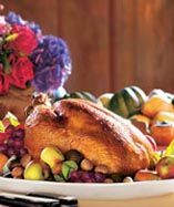 Photo of Roast Capon Country Living shares this Thanksgiving recipe, inspired by the cook…