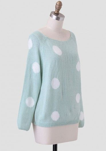 Sugar Fix Polka Dot Sweater