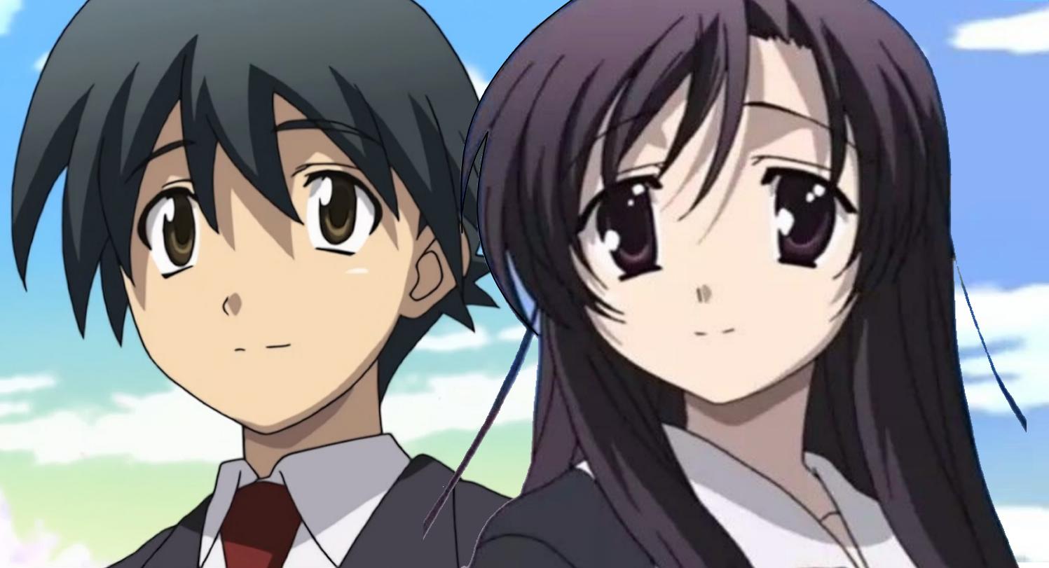 Makoto & Kotonoha School Days Days anime y Katsura kotonoha