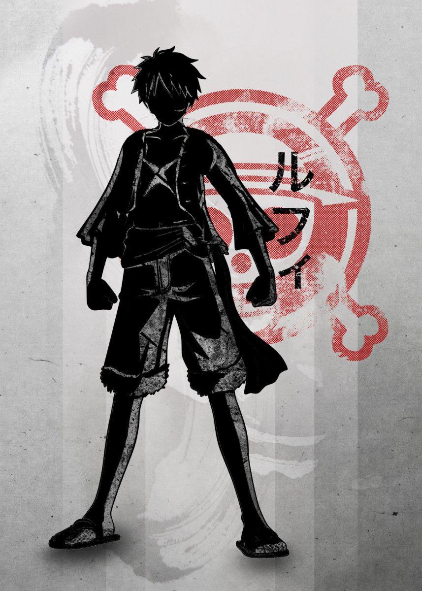 Crimson Pirate King  Metal Print Poster