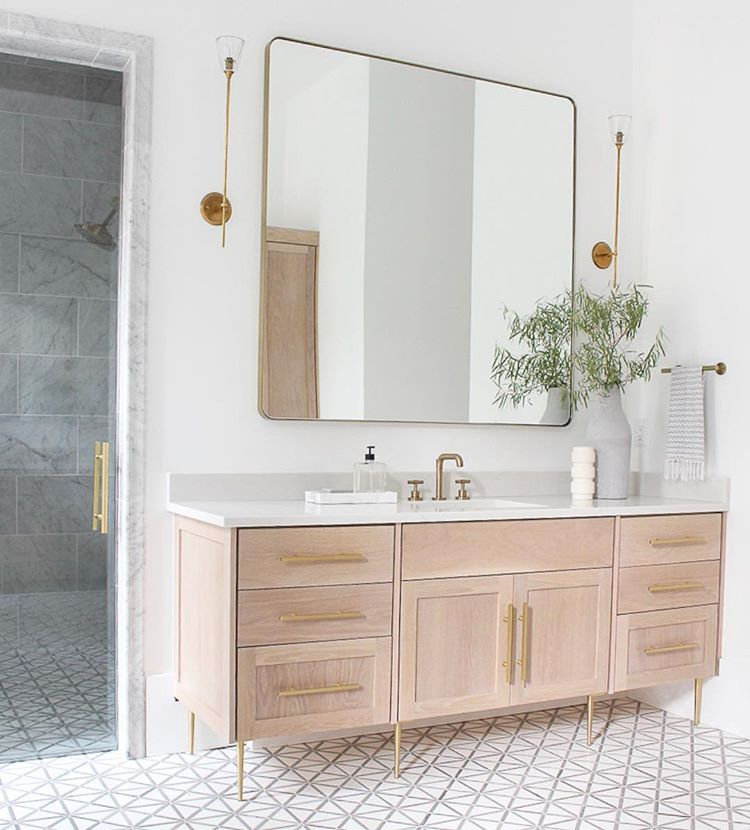 Like The Tile Vanity Dislike Stick Legs Colour Of Cabinetry Master Bathroom Vanity Bathroom Decor Master Bath Vanity