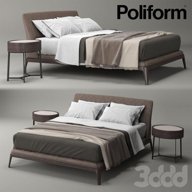 Best Poliform Kelly Кровати Кожаная Кровать Дизайны Кровати 640 x 480