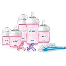 Avent EX Natural Pink Girl Gift Set