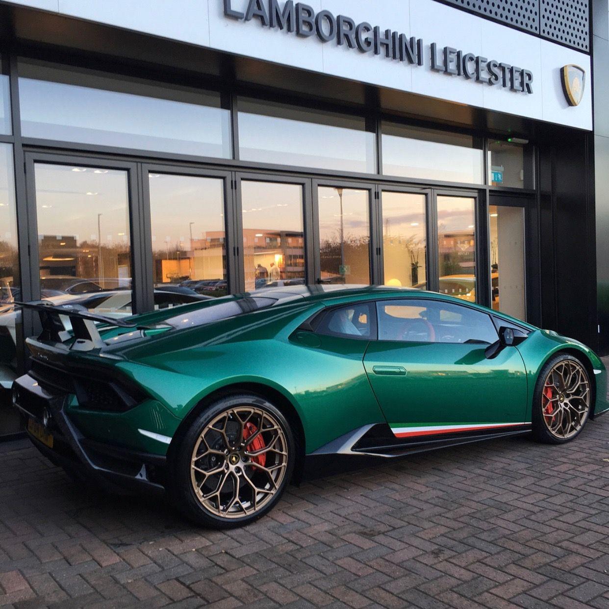 Lamborghini Huracan Performante Painted In Ad Personam Verde Balio