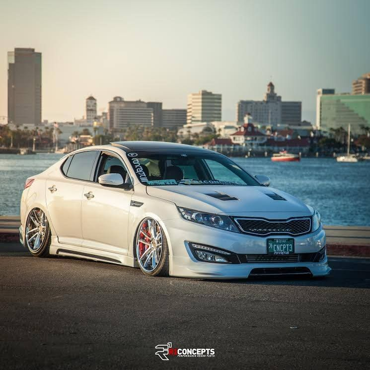 Kia Optima By Concept 3 Performance Braking With Our R1 Forged