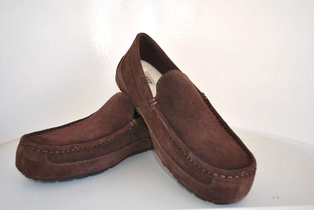 a49a08aedc2 UGG Australia Men's Alder Loafers Espresso Shoe Size US 11 UK 10 NIB ...