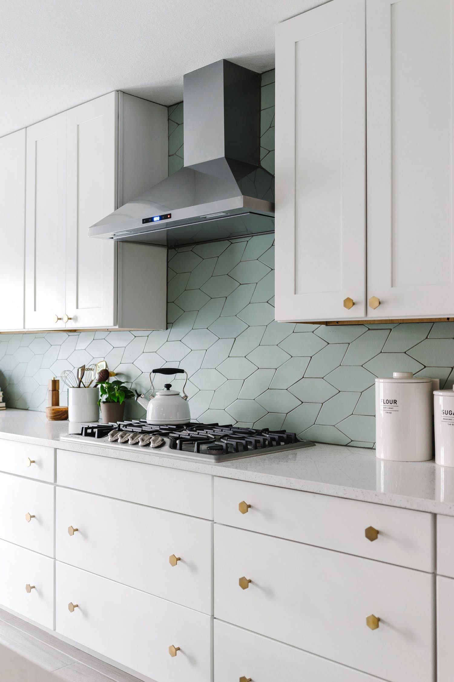 10 Badass Tile Shapes You Didn T Know Existed Kitchen Backsplash Designs Home Kitchens White Kitchen Backsplash Best tiles for kitchen backsplashes