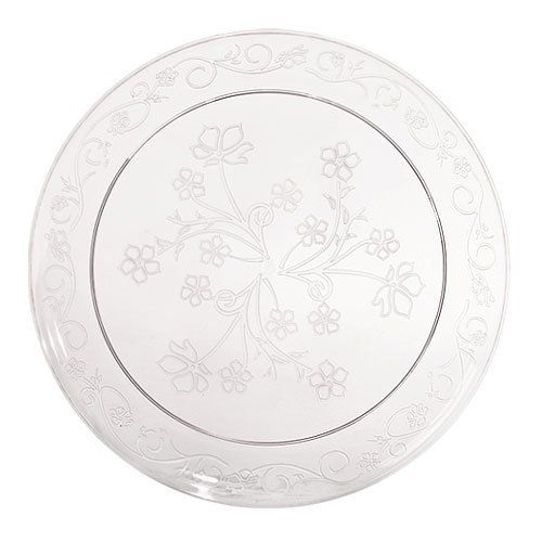 Clear 7  Disposable Plastic Plates Scrollware 20ct. by Hanna K. $10.44. 7  sc 1 st  Pinterest & Clear 7