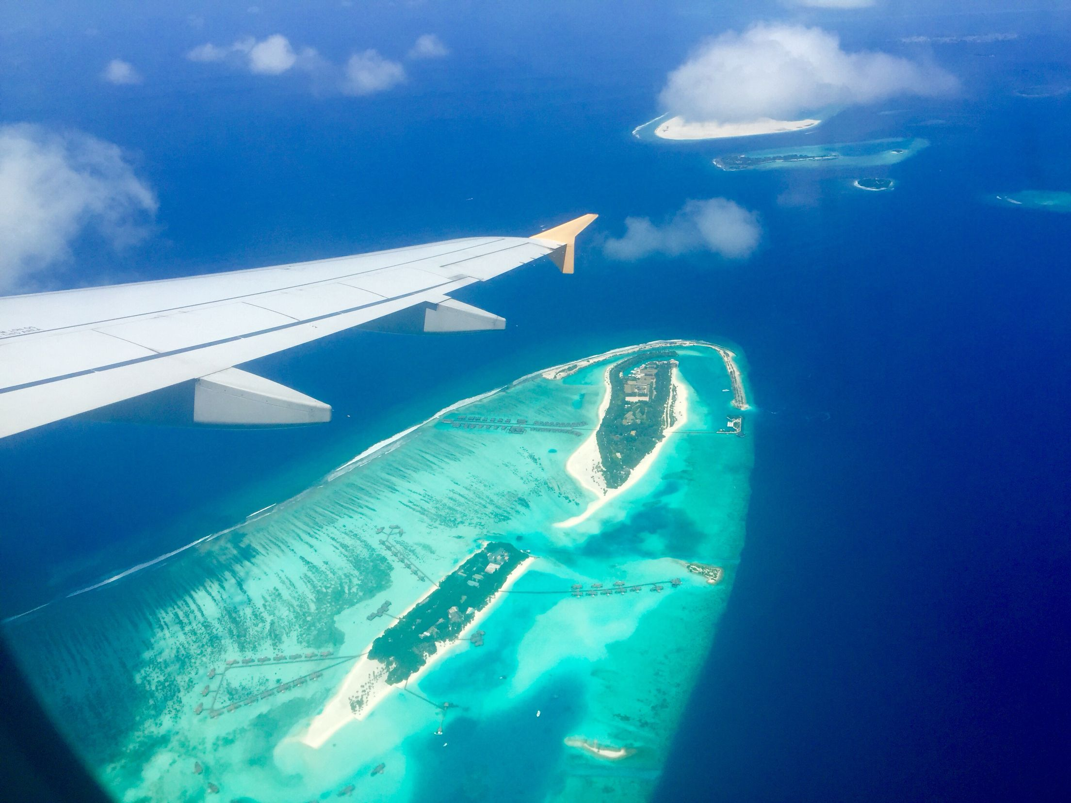 From up top or down below, Maldives is simply stunning..