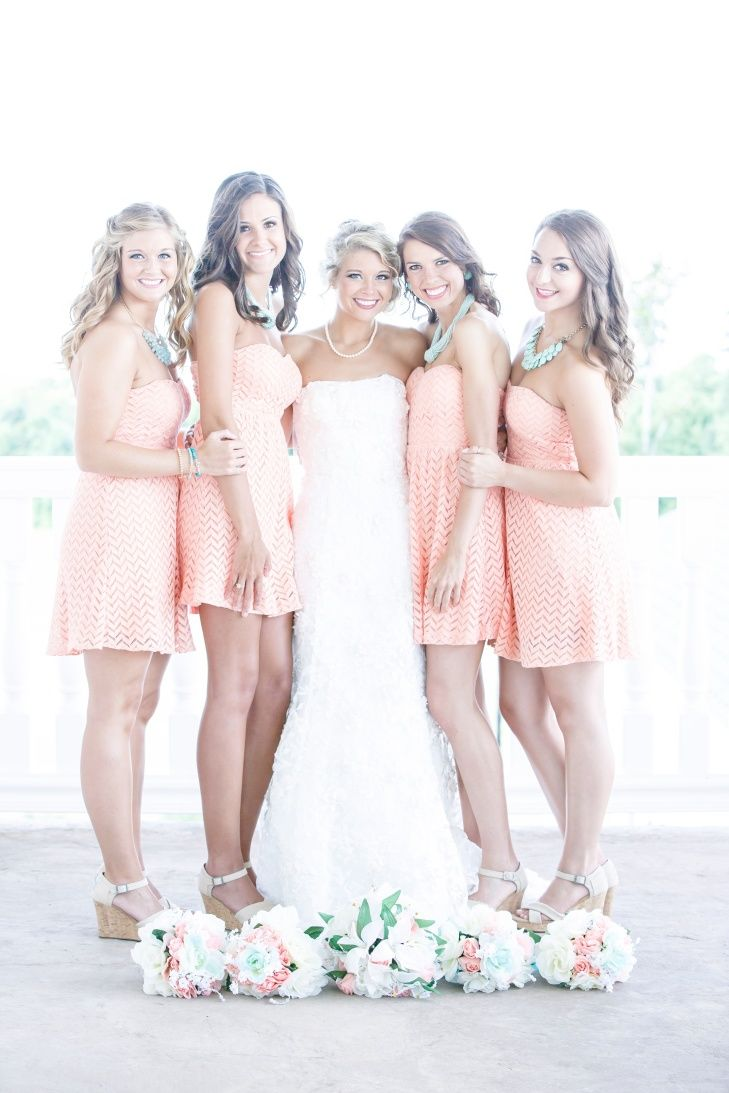 Casual coral bridesmaid dresses country plantation house https disney weddings casual coral bridesmaid dresses country plantation house httpstheknot ombrellifo Image collections