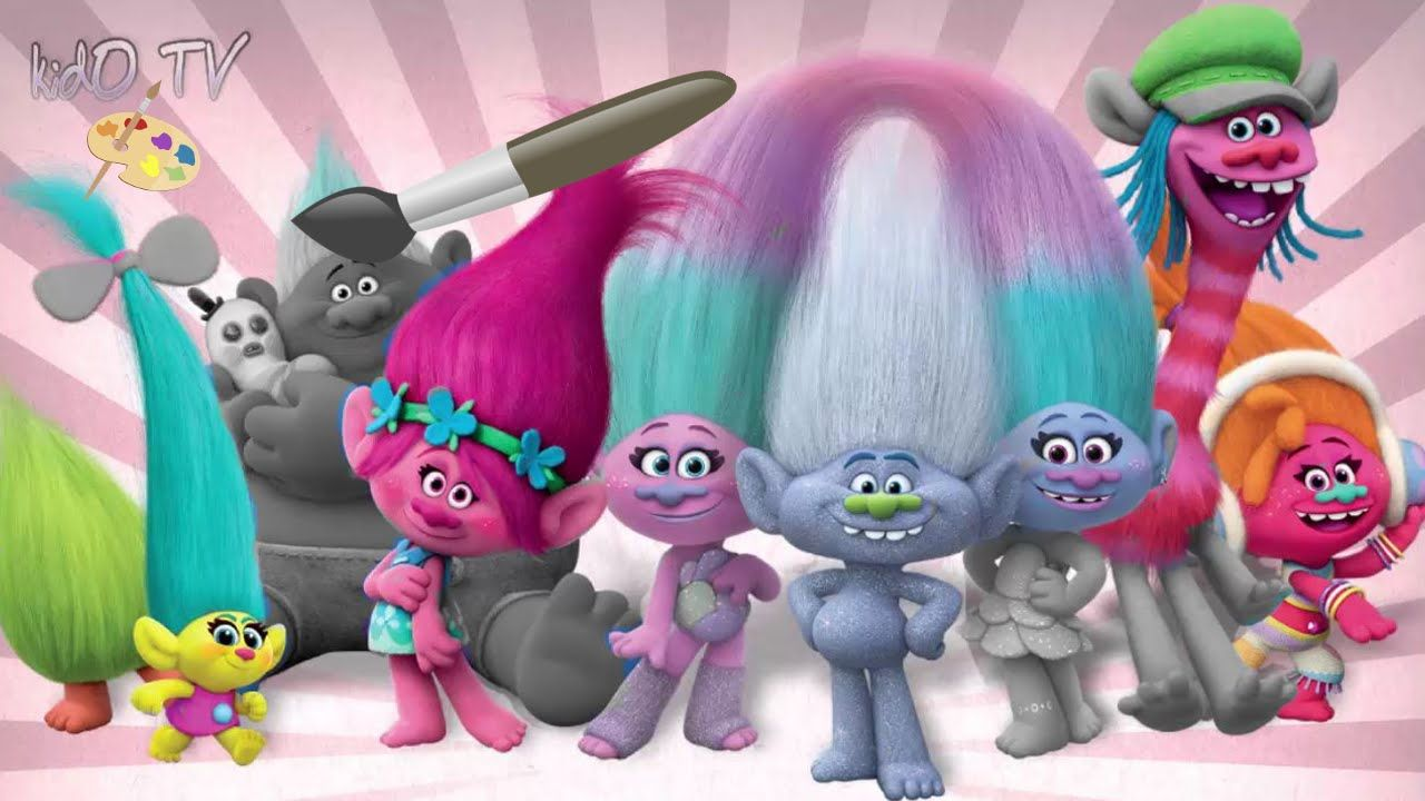 Characters of dreamworks d dreamworks animation photo pictures to pin - Find This Pin And More On Trolls