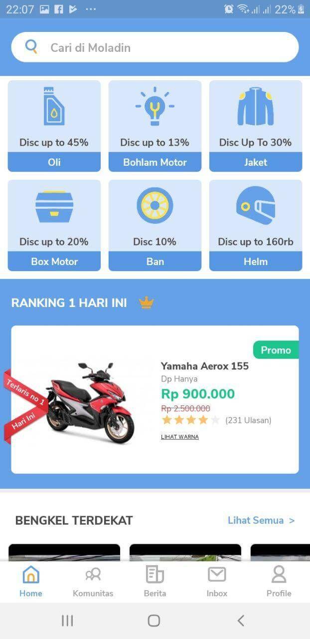 Cara Kredit Motor Di Website Moladin Menggunakan Aplikasi 3 Motor Mobil Keluarga Aplikasi Web