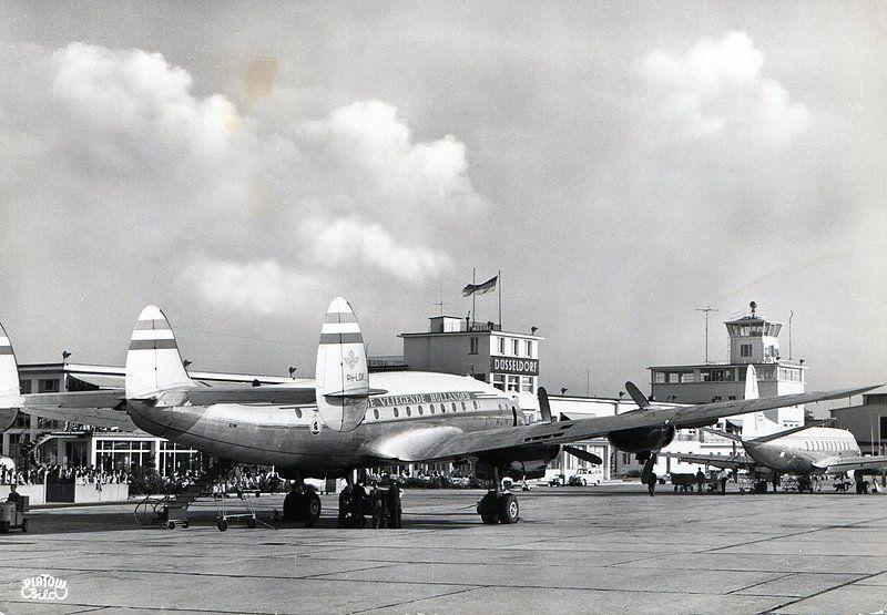 Dusseldorf, Germany Airport Aircraft, Lockheed