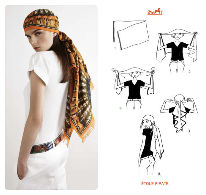 Hermès Scarf: Knotting Tips and Tricks