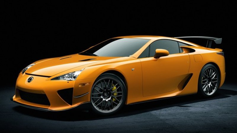 Lexus Lfa Nurburgring Edition Building A Special Edition Of Your Sports Car To Break The Lap Record Of The Very Track W Lexus Lfa Sports Car Photos Lexus Sport