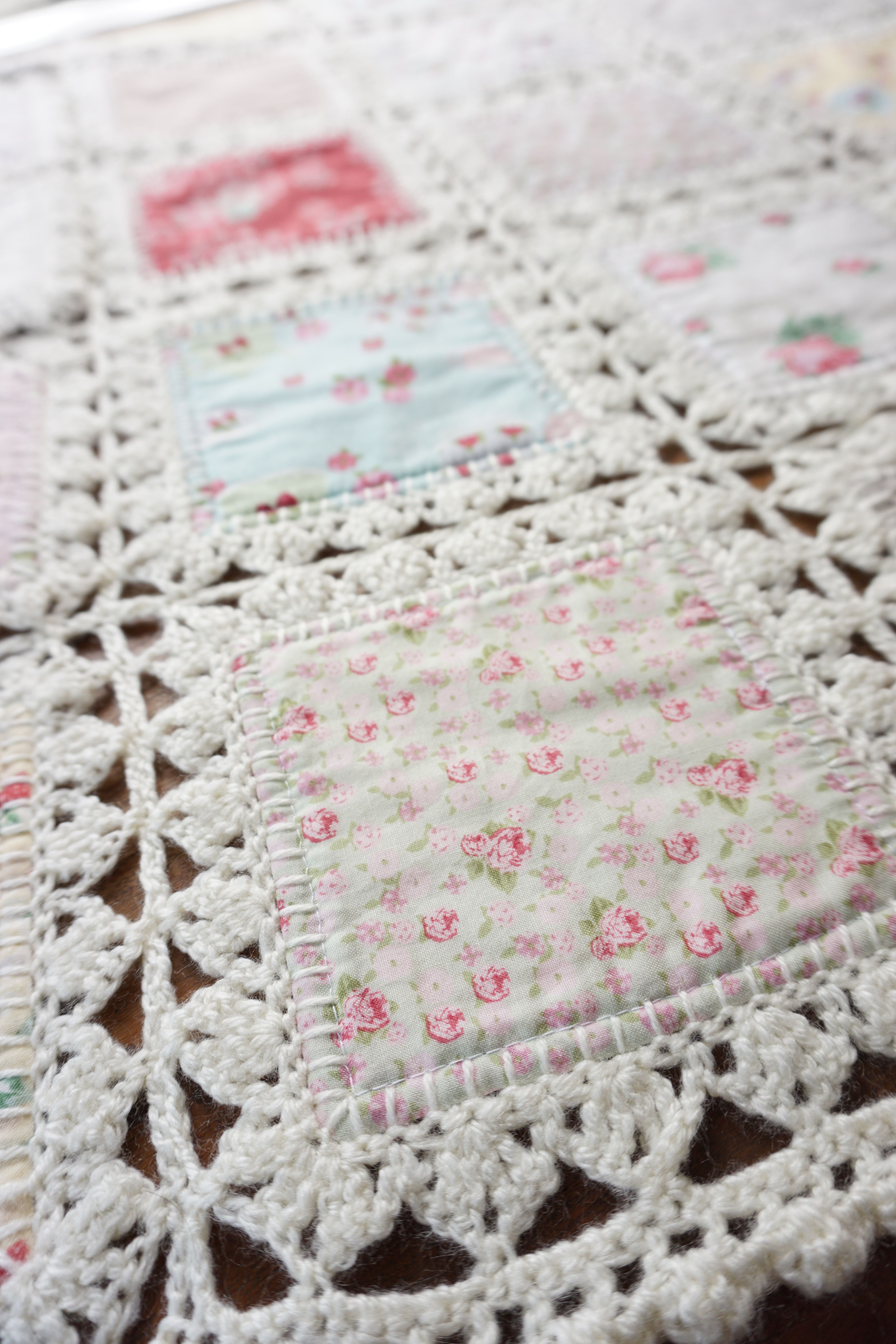 When Quilting Meets Crocheting, Beautiful Things Happen I Am So Excited To  Be Sharing