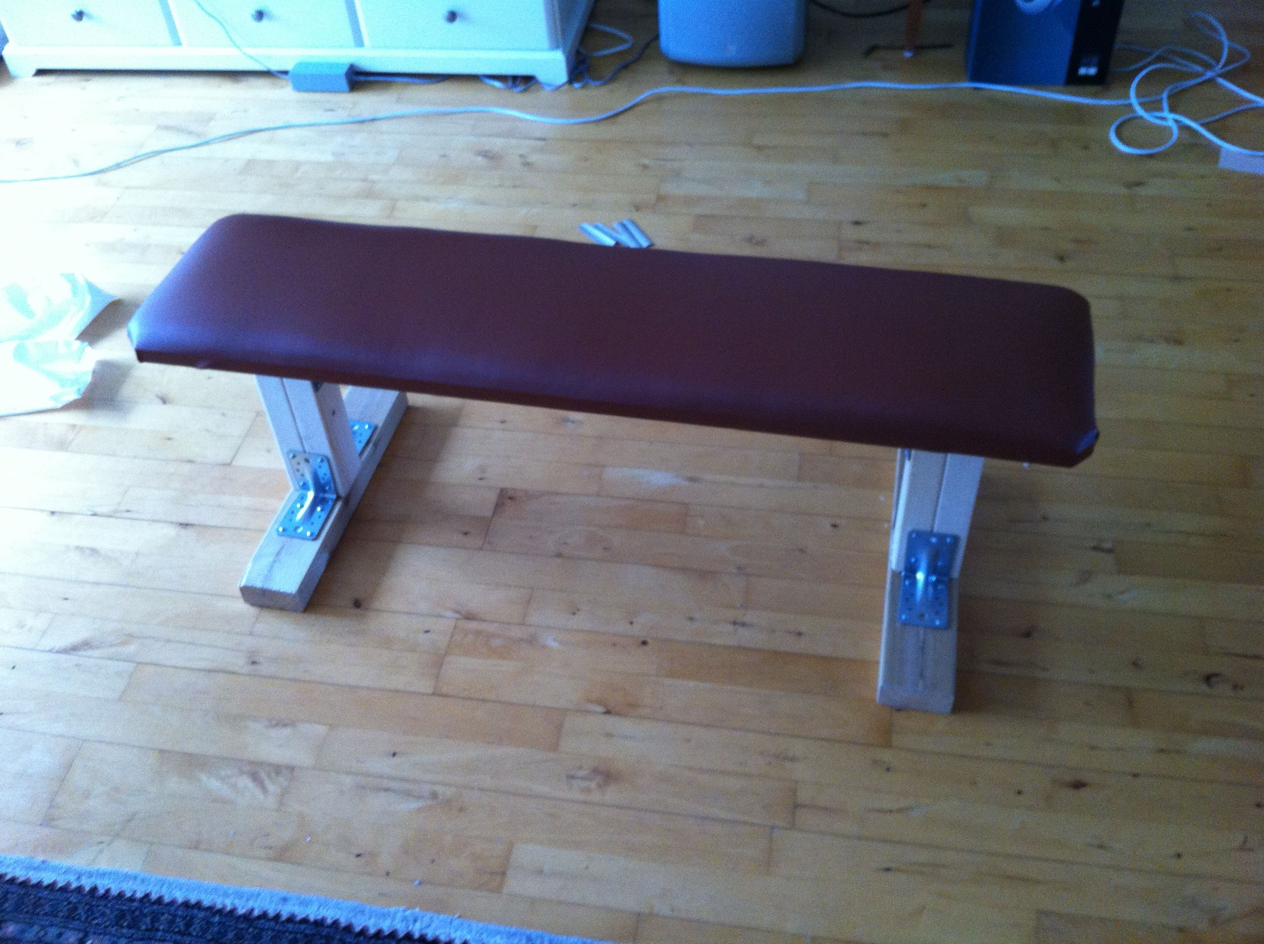 Diy Weight Training Bench Fitness Pinterest At Home Gym Gym