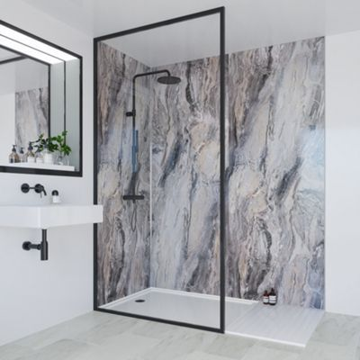 multipanel classic bathroom wall panel square edged on shower wall panels id=22171