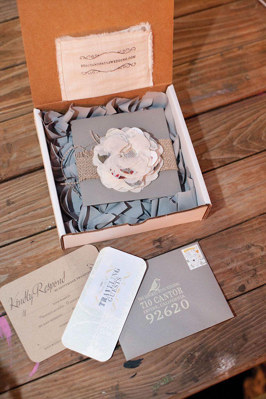DIY wedding invitations idea Pinterest Diy wedding invitations