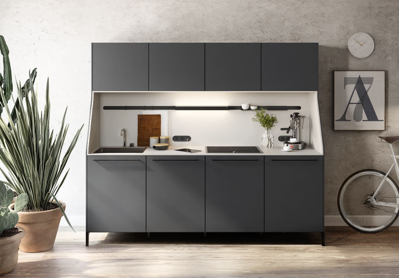 Paradigm Busting SieMatic 29 URBAN Series Kitchens Composed Of