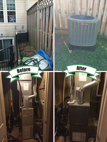 Holtzopleheatingandairconditioning Trane Beforeandafter Here S A Trane Xr15 Heat Pump With Variable Spe Hvac Services Heating And Air Conditioning Heat Pump