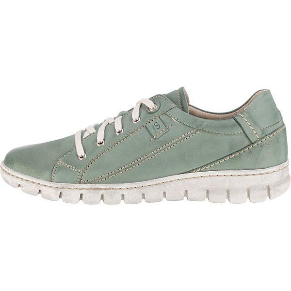 HIL 770 THINK CHILLI 84102 60 VEG salvia Schnür Schuhe grün