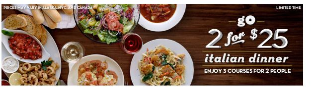 specials menu online menu authentic italian cuisine olive garden - Olive Garden Lunch Time