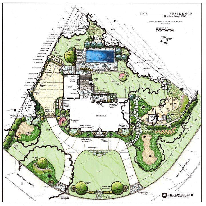Bellwether Landscape Architects In Atlanta Ga: Landscape Design, Garden