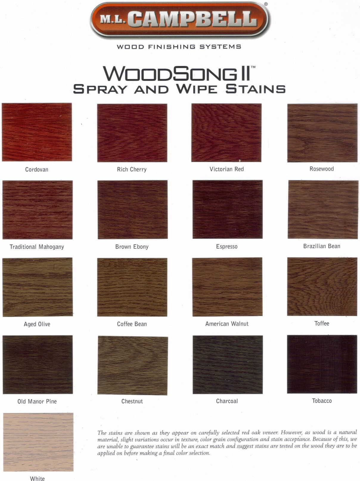 Old Manor Pine Ml Campbell Woodsong Ii Stain Colours 2
