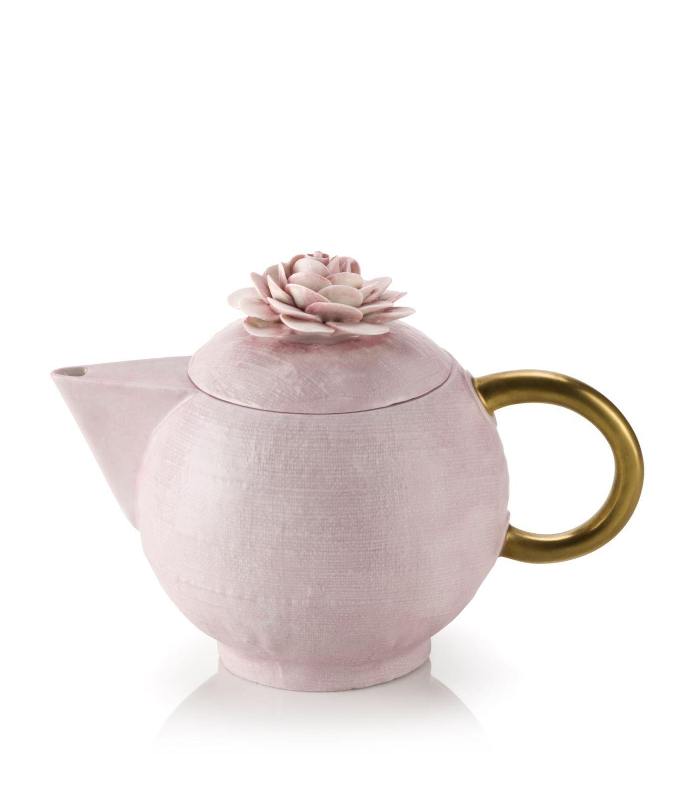 Villari Flower Teapot | Harrods.com #teapots