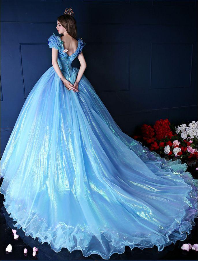Cinderella Inspired Princess Ball Gown | Fairytale | Pinterest ...