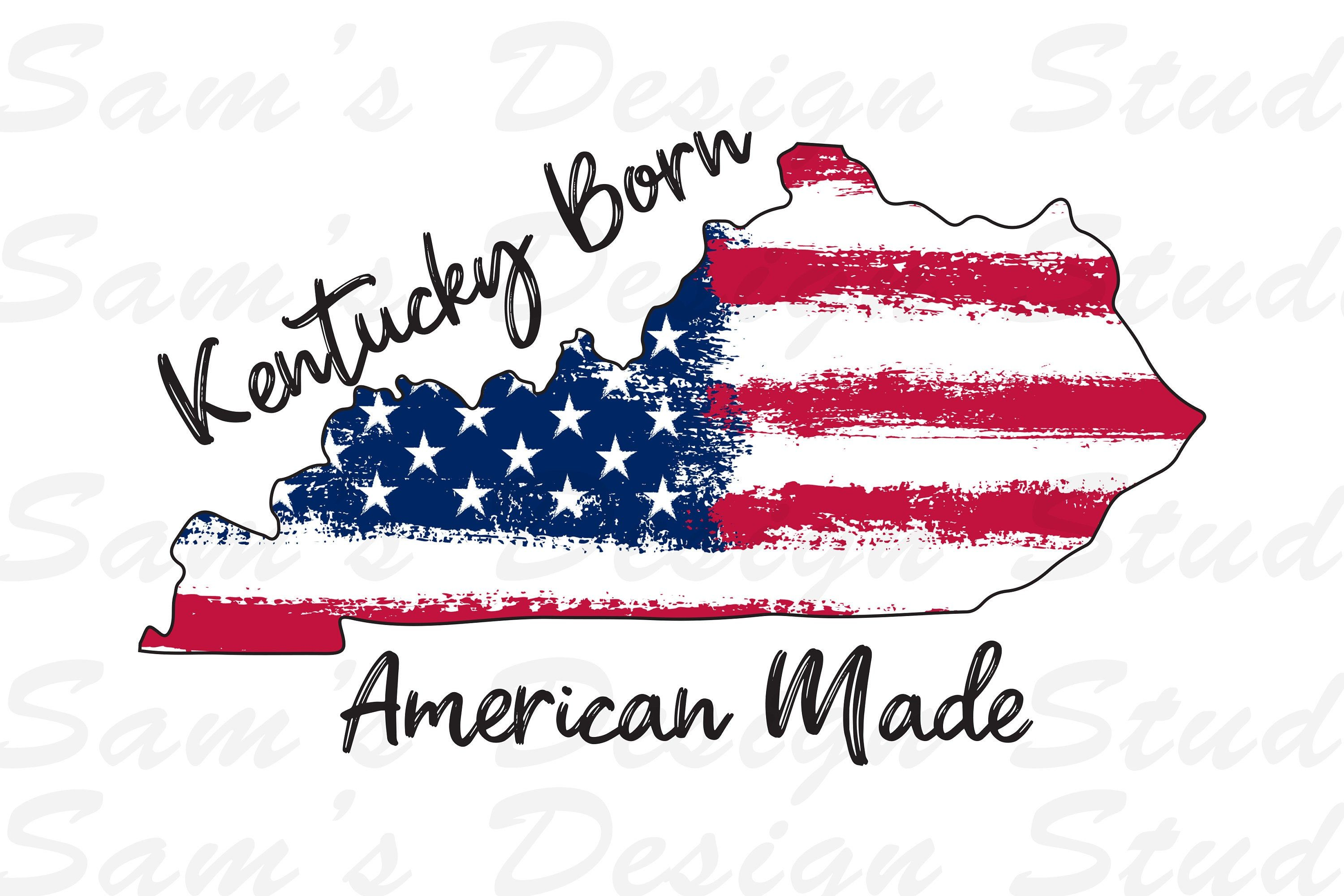 Ky Archery digital download for Silhouette or Cricut Machine Kentucky SVG Archery svg American Flag Instant Download