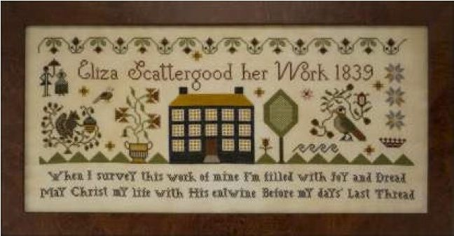 Eliza Scattergood by Plum Street Samplers