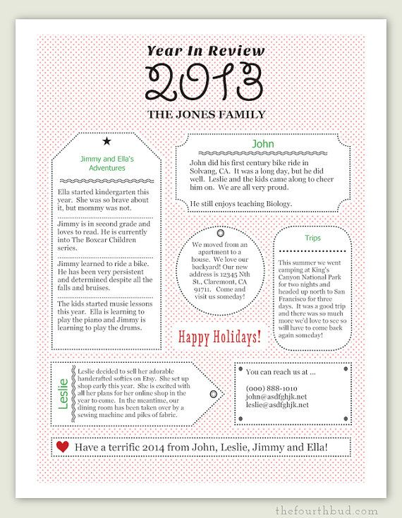 A year in review christmas letter pdf template gift tag a year in review christmas letter pdf template gift tag greetings in red m4hsunfo