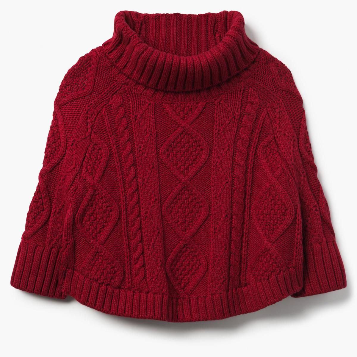 04a2b0c4083fe Cable Knit Poncho Sweater | Savannah Paige | Baby girl sweaters ...