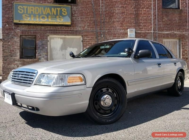 Car For Sale 2008 Ford Crown Victoria Interceptor