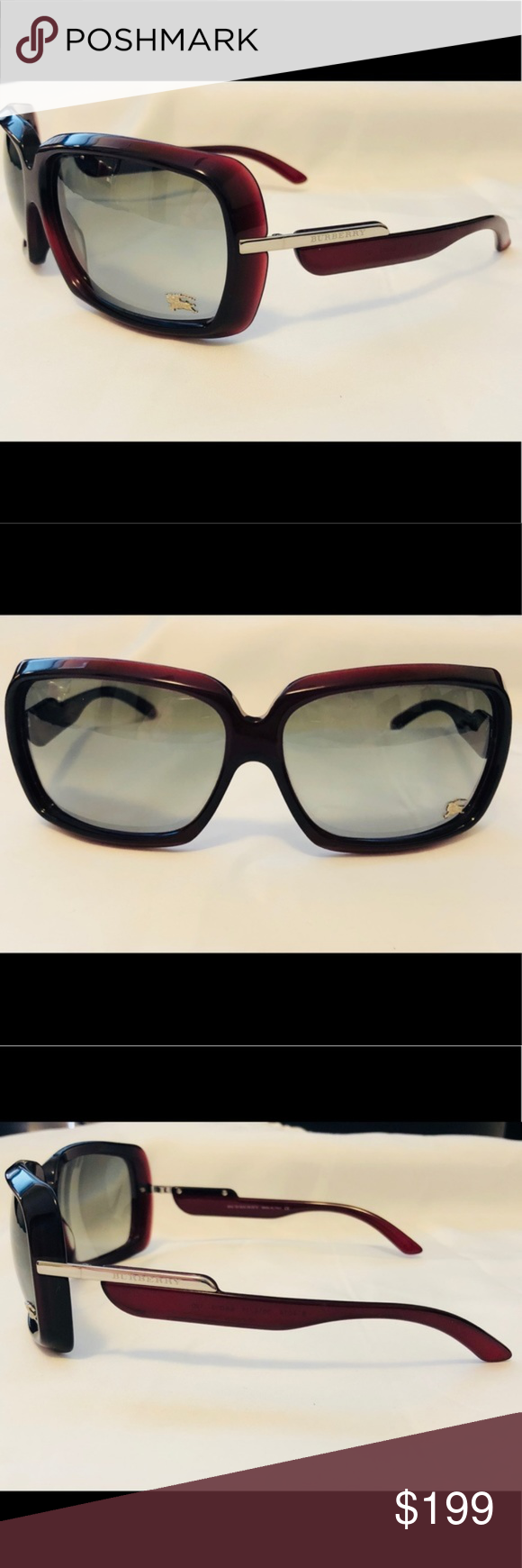 b28ce137fc5 New Burberry Oxblood Red Sunglasses 4014 New Burberry Oxblood Red  Sunglasses B4014 3014 11 They are lovely