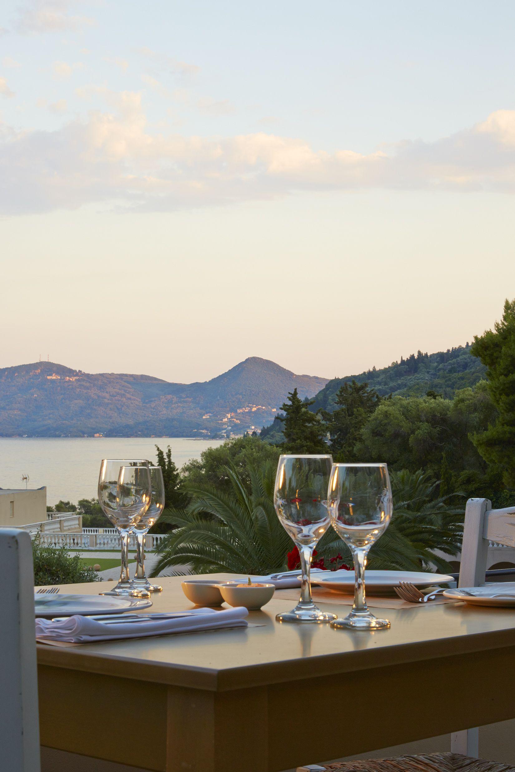 Romantic #dinner @Marbella #Corfu