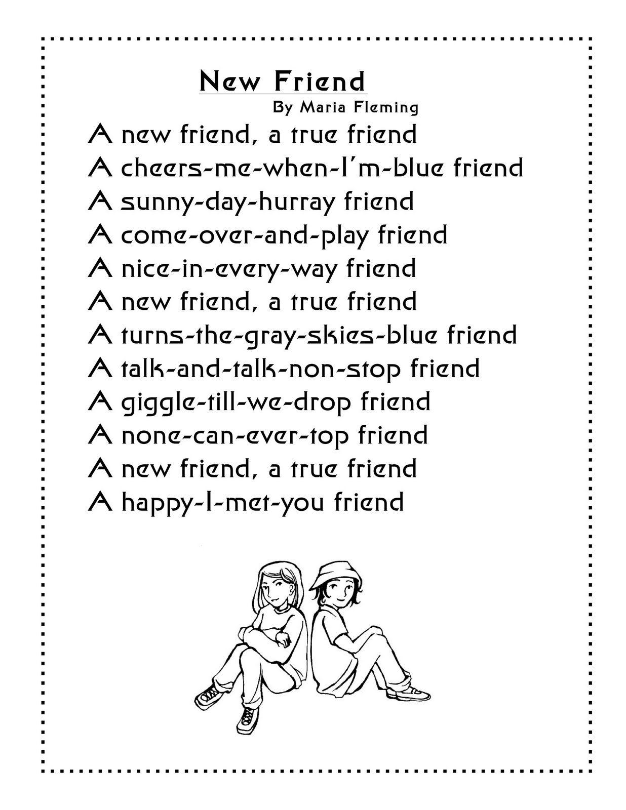 Pin Von Sabine Czink Auf English Poesie Fur Kinder