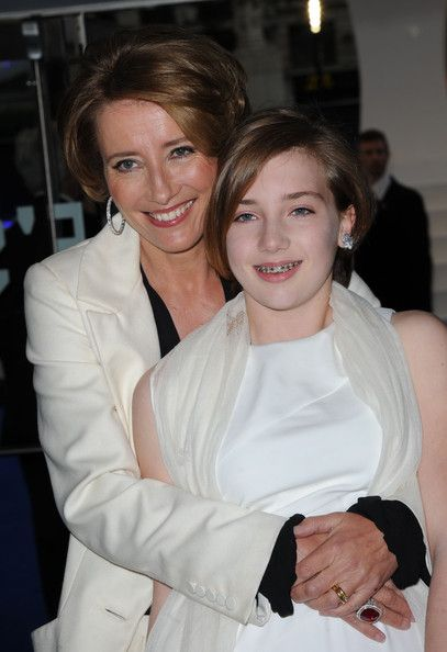 Emma Thompson & daughter Gaia Romilly at the Men in Black 3 premiere UK