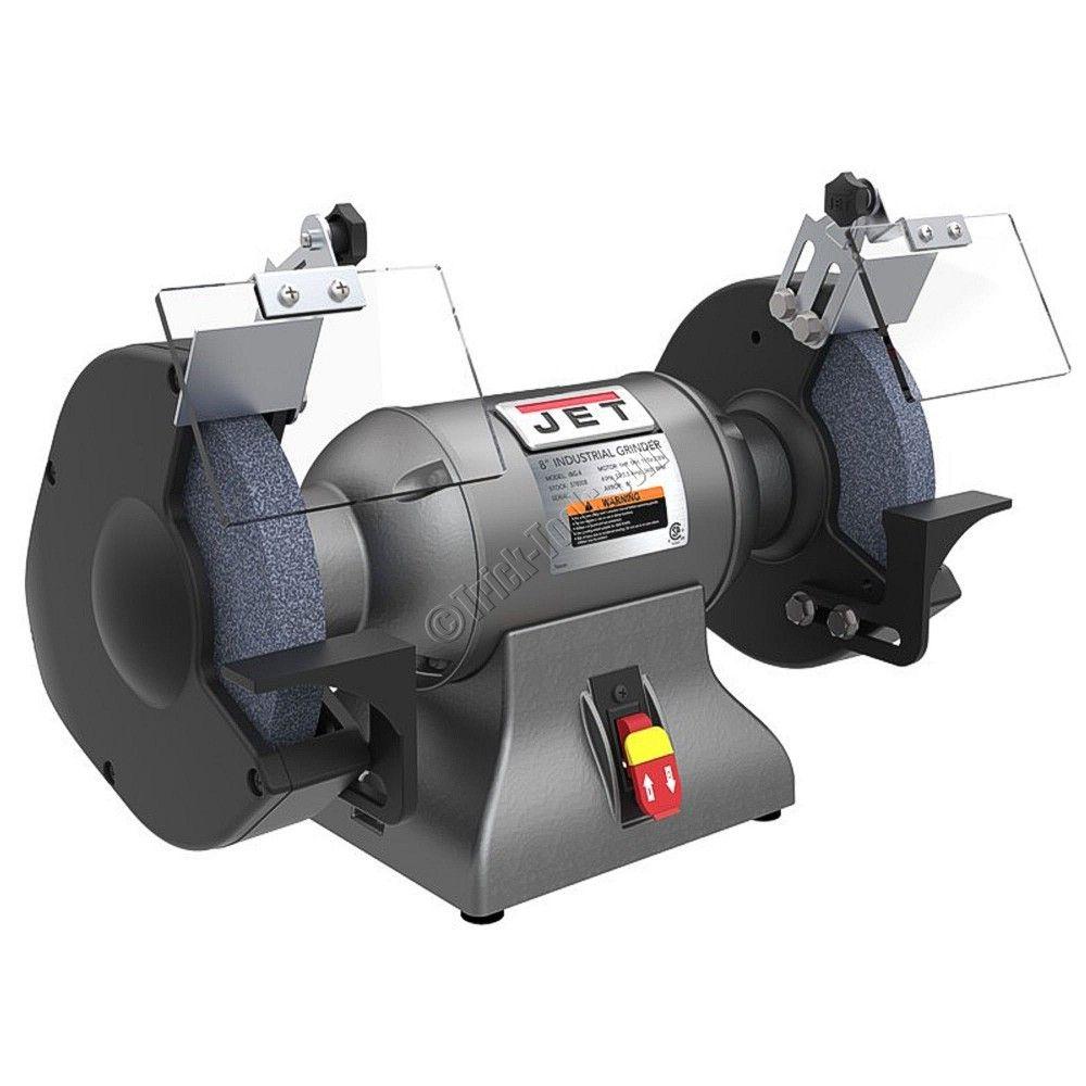 578008 Jet Ibg 8 8 Inch Industrial Bench Grinder 1 Hp Industrial Bench Bench Grinder Metal Working