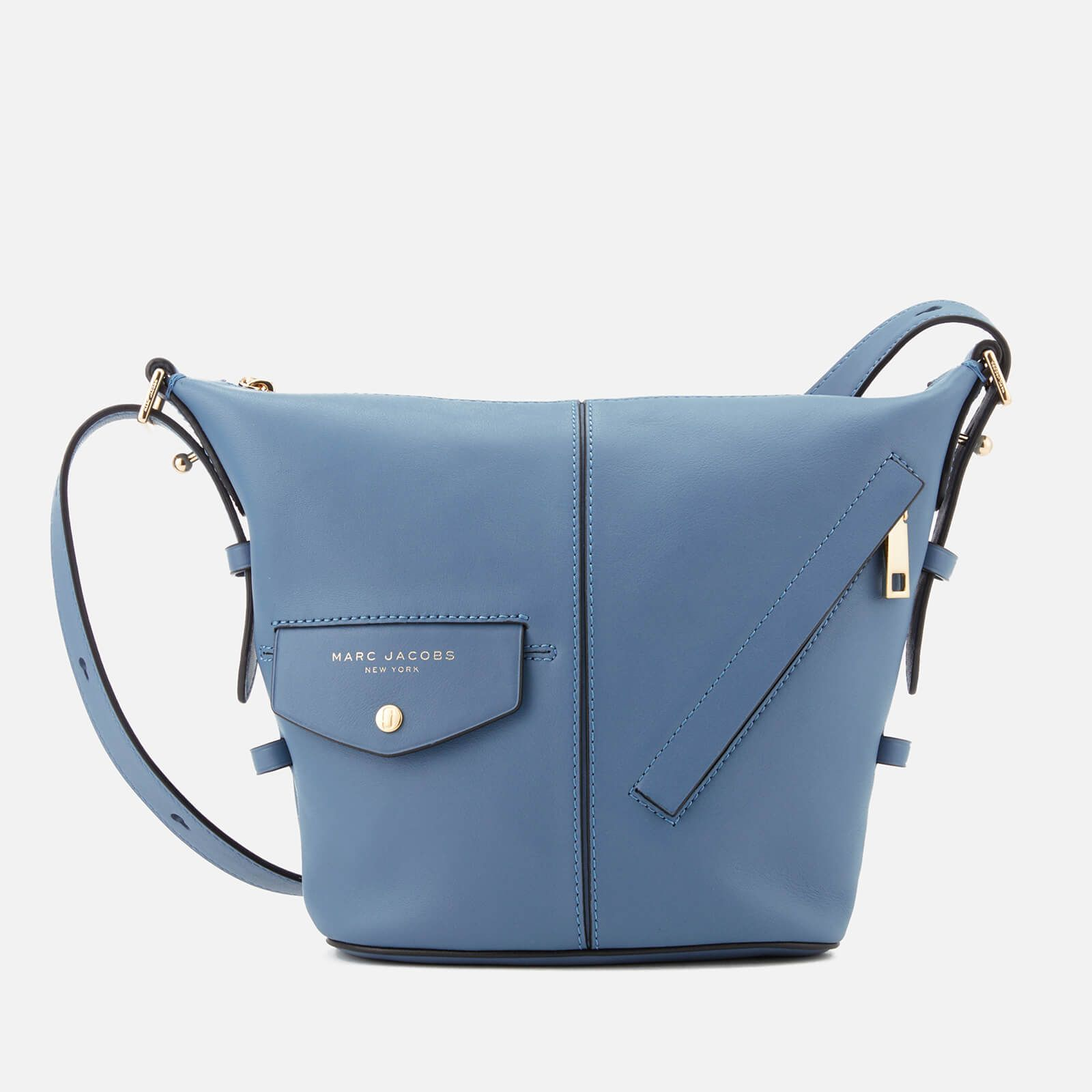 2197ac3dff7f9 Marc Jacobs Women s The Mini Sling Cross Body Bag - Vintage Blue Womens  Accessories - Free UK Delivery over £50