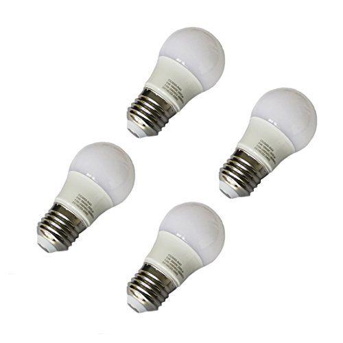 Pack 4pcs Led Bulbs E27 Light Bulbs Cool White 60006500k A45 Globe Blub 3w Equivalent To Traditional 20w Bulb E27 Light Bulb Led Bulb Light Bulbs