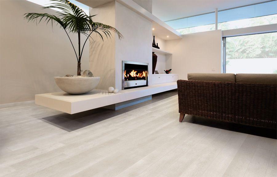 Rovere bianco pavimenti effetto legno in gres porcellanato - Piastrelle simil legno ...