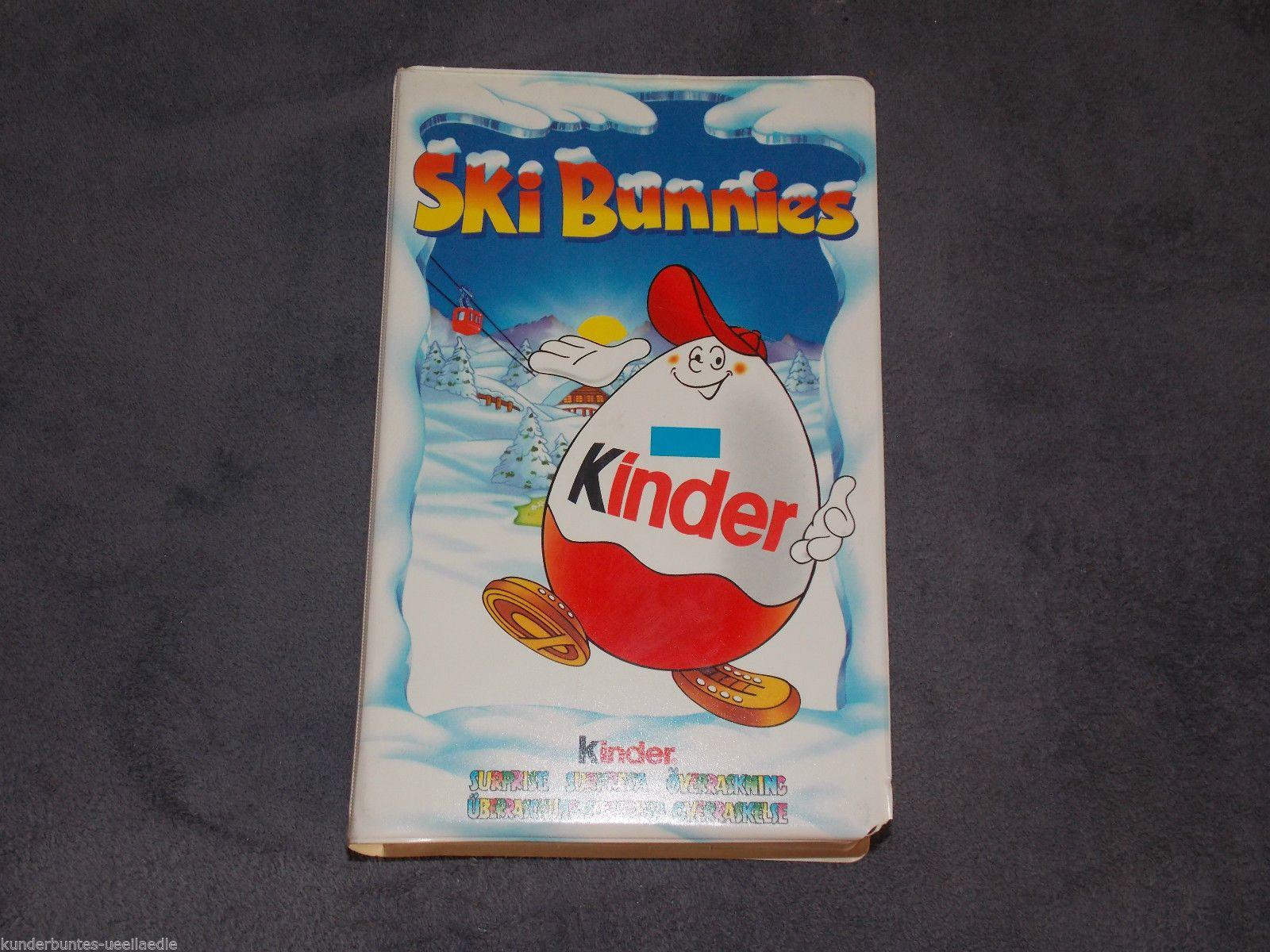 Buchhüllendiorama Diorama Ski Bunnies EU Kinder Surprise | eBay