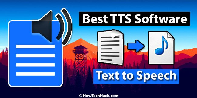 Top 10 Best Tts Text To Speech Software With Natural Voices 2019 Speech Software Text